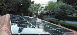 Solare fotovoltaico con inverter ibrido
